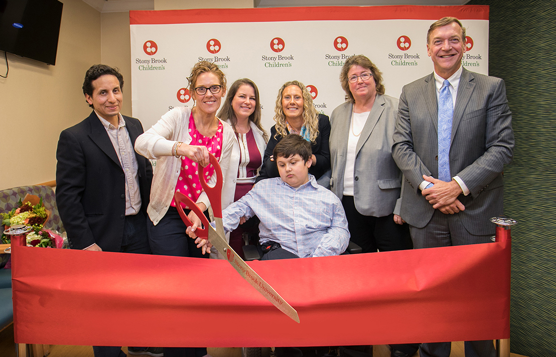 Duchenne Muscular Dystrophy Center Opening | Stony Brook