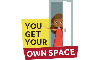 Consiga su propio espacio