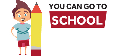 You Can Go to School image